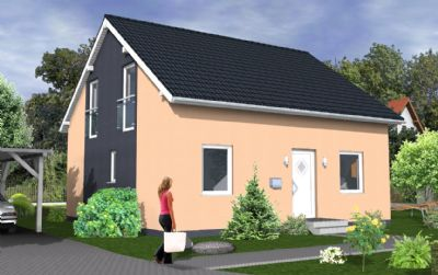 sch nes modernes terrassengiebelhaus inkl balkon mit 139. Black Bedroom Furniture Sets. Home Design Ideas