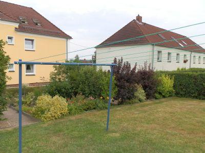 Mietergarten und Wäscheplatz