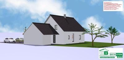 Haus 1 Nord-Ost Garage mit Satteldach