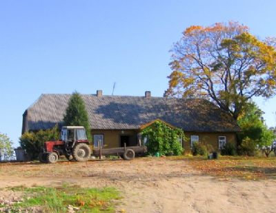 farm agrarland bei ritavas in litauen derzeit schaffarm landwirtschaftliche fl che rietavas. Black Bedroom Furniture Sets. Home Design Ideas