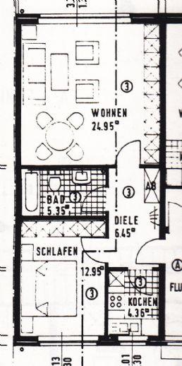 Gemütliche OG-Wohnung in Kerken-Aldekerk