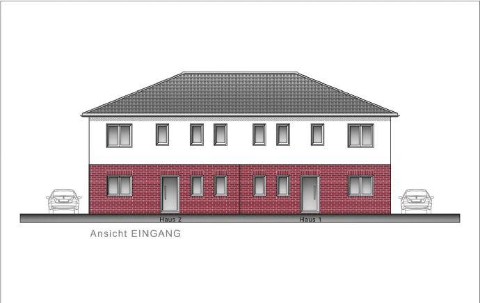 Verden (Aller) - Neubau einer modernen Doppelhaushälfte zentral gelegen