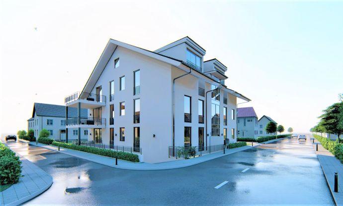 Exklusive Neubau 3-Zimmer Eigentumswohnung mit Balkon