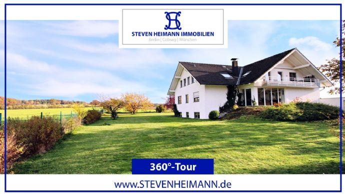 NEU: 360°-TOUR | Residieren, wohnen, leben - Ihr Traumhaus bei Coburg.