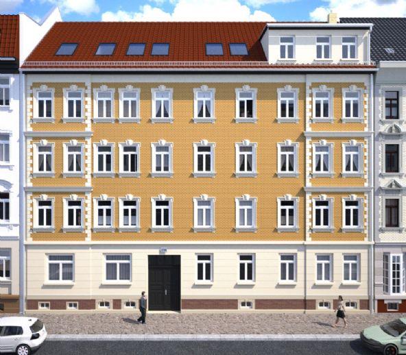Moderne 3 Zimmerwohnung mit Balkon und Einbauküche