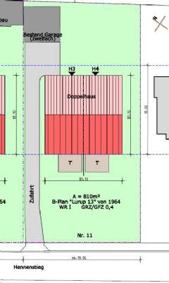 Baugrundstück für Ein Doppelhaus in bester Lage