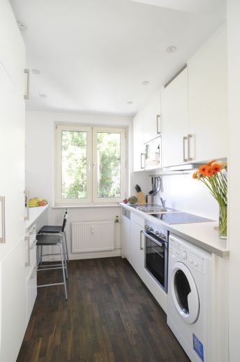 price reduction - beautifully furnished 3-room-apartment vis-a-vis new ECB