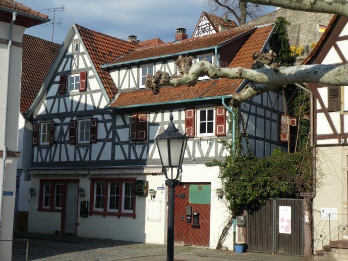TOP - LAGE an der Bergstrasse - Wohn-Geschäfthaus -einmalige Kaufchance!