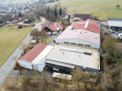 Rothenfels Halle, Rothenfels Hallenfläche