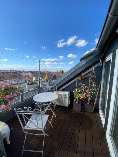 Traumhafte 3-Zimmer Wohnung mit Dachloggia - Stadtmitte Aschaffenburg