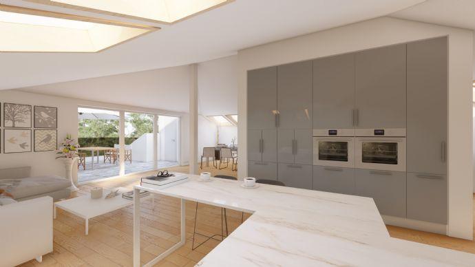 Traumhafte 4-Zimmer-Maisonettewohnung mit Dachterrasse