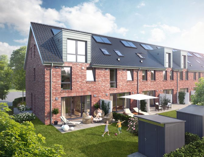 Neubau Stadthaus in gefragter Lage in Burg-Grambke fü 310.590 !
