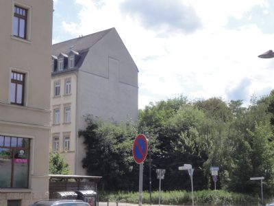 leeres Grundstück für Mehrfamilienhaus auf dem Kaßberg