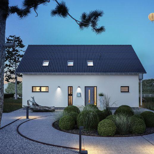 Architektenhaus mit Galerie auf Gartengrundstück vor den Toren Paderborns - jetzt mit Massa Haus bauen!