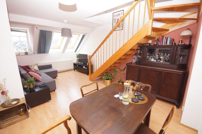 Schöne Maisonette Wohnung in Chemnitz-Kassberg zu verkaufen!