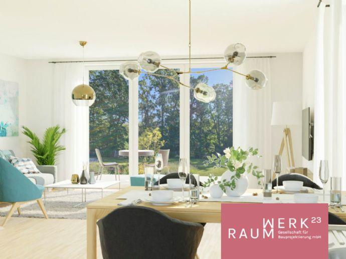 KfW55: Neubau-Doppelhaus im grünen Reichelsdorf