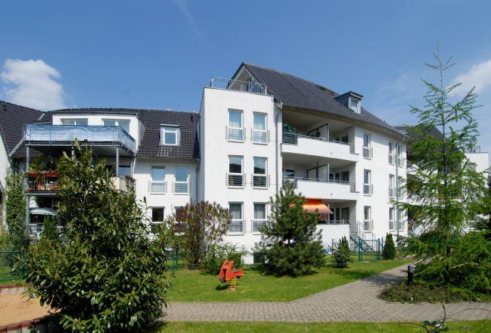 Tolle  1-Zimmer-Neubau-Wohnung mit Loggia (Balkon) in Weißenfels-West