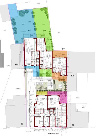 Neubau 1 Familien-Reihenhaus mit 2 Terrassen & Garten in FRANKFURT-Schwanheim