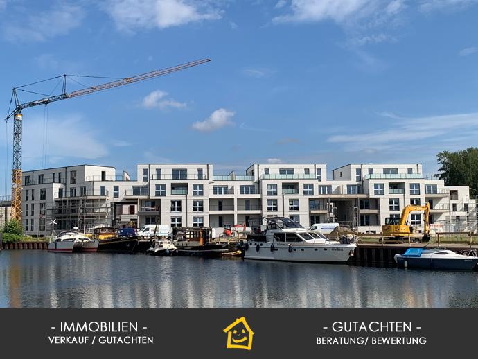 White City - Wohnen am Alten Hafen, Neubau, 3 Zimmer, 118 m² Wfl. Terrasse südwestliche Ausrichtun