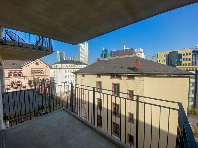Erstbezug 1-Zimmer Appartment - in Frankfurt am Main mit Skyline-Blick