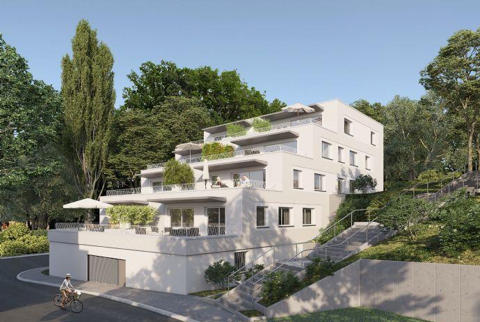 Wohnen am Adelberg / Penthouse mit Rheinsicht