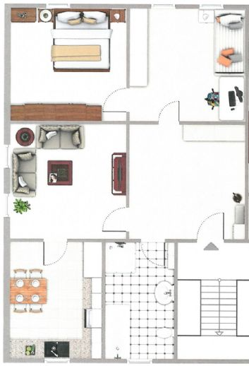 3 Zimmer Altbauwohnung im nördl. Ringgebiet - Citynah