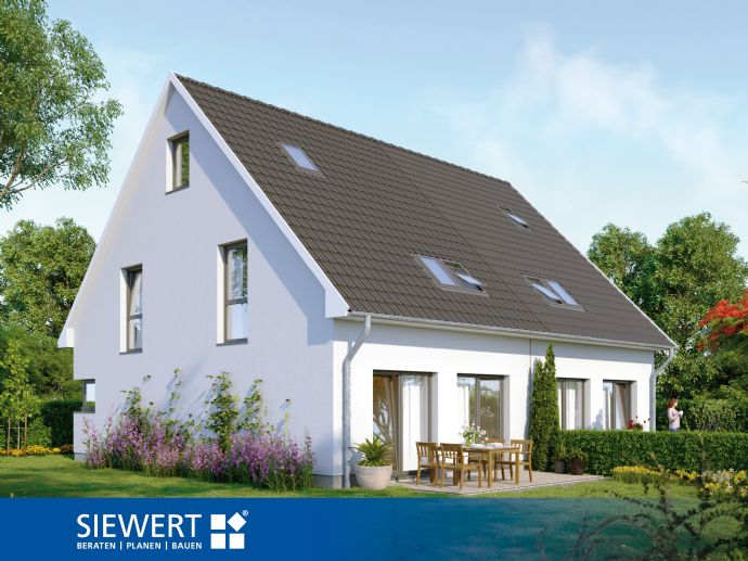 Doppelhaushälfte inklusive Grundstück