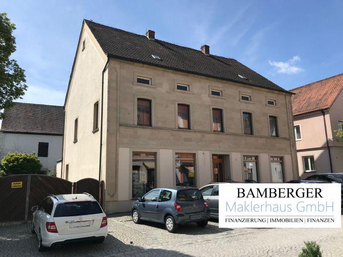 Wohn- und Geschäftshaus + Scheune - im Ortskern von Burgebrach