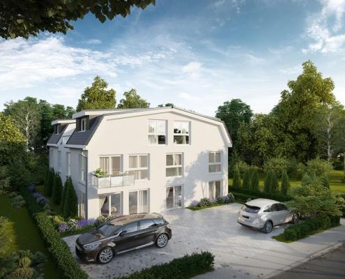 Traumhafte 2-Zimmerwohnung mit Fahrstuhl und sonniger Dachterrasse