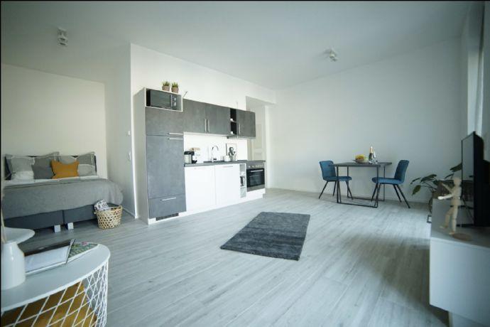 NEUBAU BOARDING HOUSES - TERRASSE 1 Zimmer -voll ausgestattet- PRIME PARK *Tagespreis Euro 79,-€*
