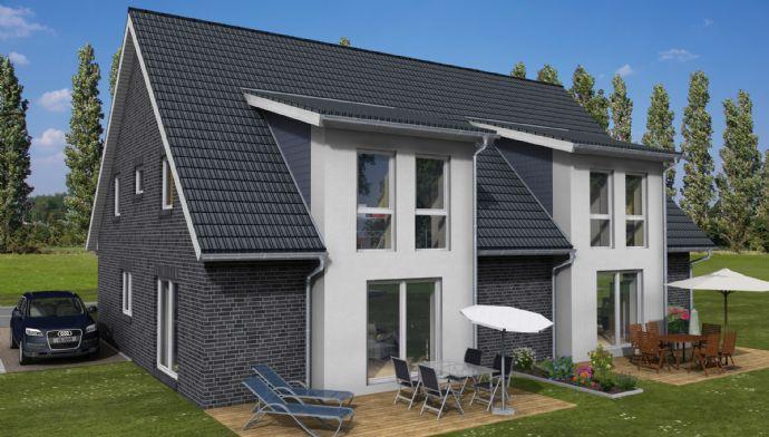 RESERVIERT bis 05.08.2020 !!! Baulücke: Platjenwerbe / Bremer Schweiz: neue Doppelhaushälfte (KfW40, 130 m²) in Platjenwerbe für die Familie !