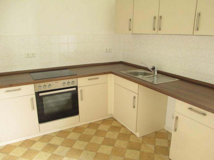 Wohnung mit Einbauküche, die Parkanlage direkt vor der Haustür sucht neuen Mieter!