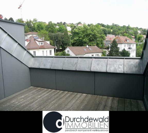 Exklusive 3-Zimmer-Dachgeschosswohnung mit schöner Terrasse und Blick