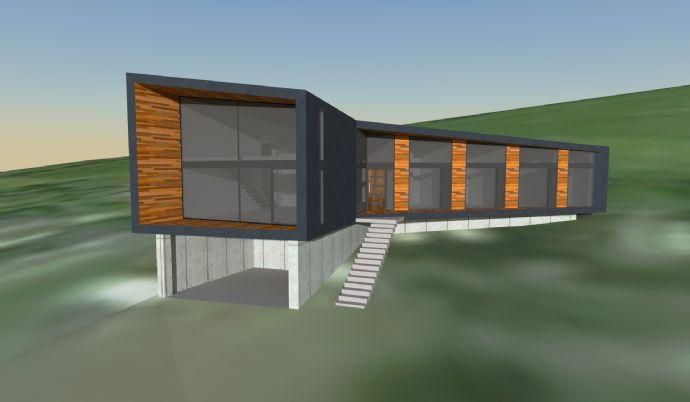 modernes Architektenhaus Süd-West-Hanglage