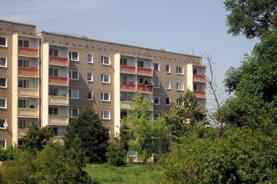 2-Raum-Wohnung mit Balkon und Blick ins Grüne