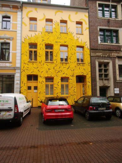 DU-Ruhrort, im bekannten Bananenhaus, ansprechende komplett möblierte Wohnung, provisionsfrei