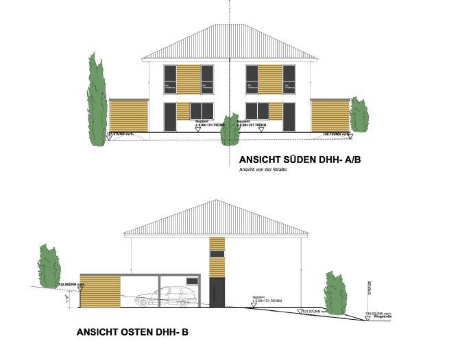 DHH in Vlotho 295.000,-€ inkl. Grundstück, Carport und Außenanlagen