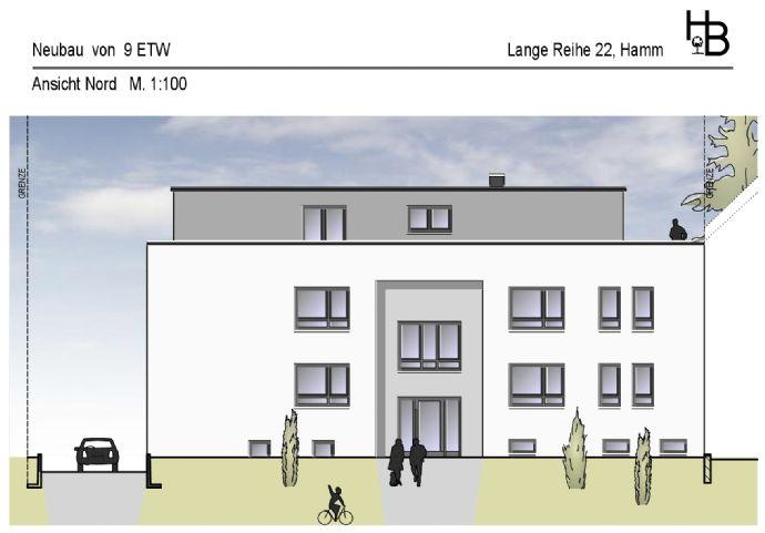 Neubau: Komfortable EG-Eigentumswohnung-Nr. 2 in Hamm-Braam-Ostwennemar