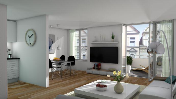 2- Zimmer Wohnung zwischen der List und der Nordstadt