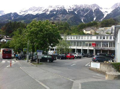 Innsbruck Garage, Innsbruck Stellplatz