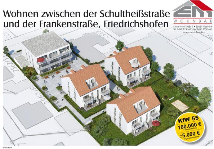 Wohnungen im Westen von Ingolstadt