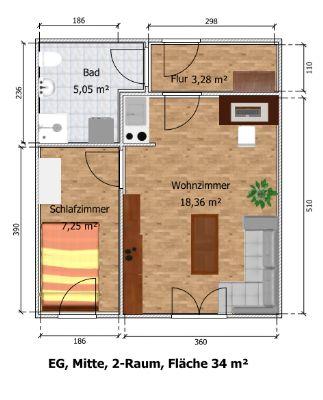 Wohnung Waldheim