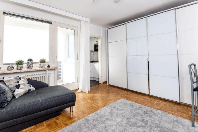 Möblierte 1-Zimmer-Wohnung mit EBK Nähe Maschsee, ab 01.03.2021