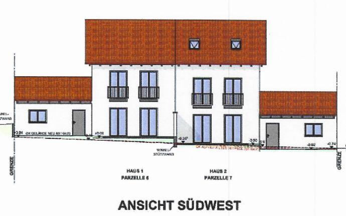 NEUBAU moderne Doppelhaushälfte mit Garten in Seysdorf