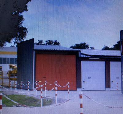 Hockenheim Garage, Hockenheim Stellplatz