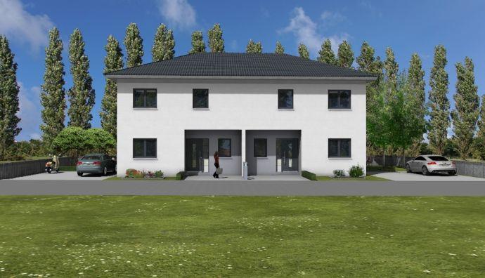 Bauprojekt Provisionsfrei! Doppelhaushälfte ab 208.000 , bereits projektiert Wohnfläche ca.105 m²