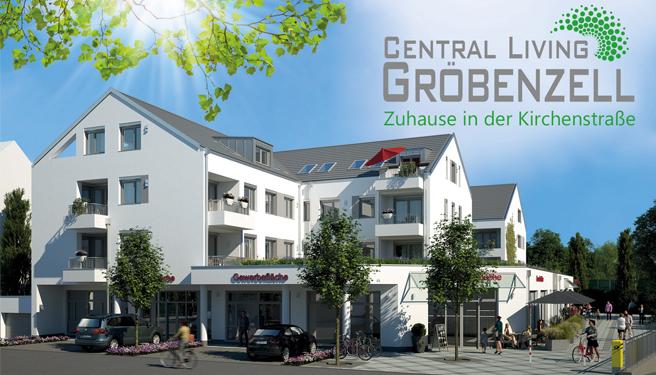 Neubau Top 3-Zimmer-Dachgeschoss-Eigentumswohnung Central Living