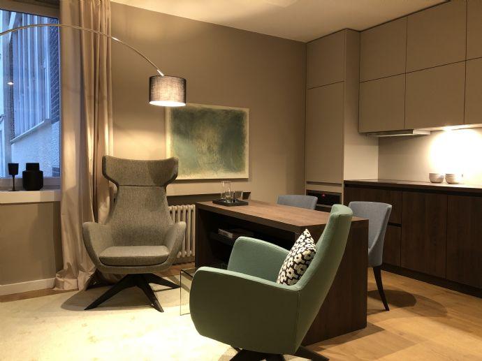 Traumhaftes vollmöbliertes Apartment im Zentrum von Hagen.