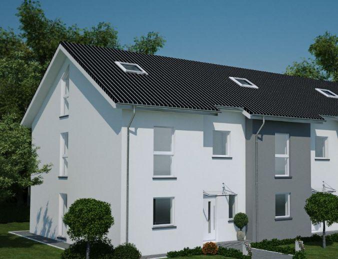 Neubauprojekt Doppelhaushälfe in Bielefeld-Ubbedissen - Wir bauen für Sie individuell - Stein auf Stein