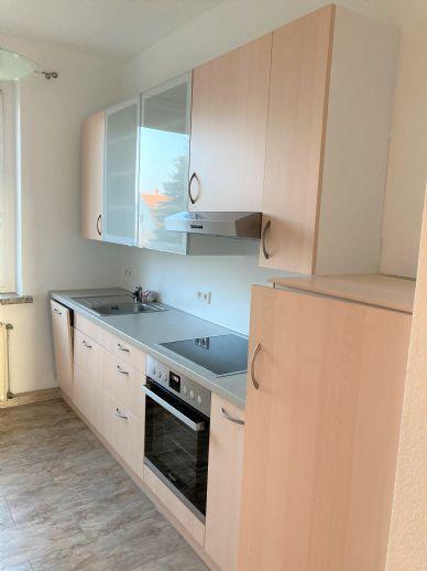 Gepflegte, ruhige Wohnung mit Einbauküche!